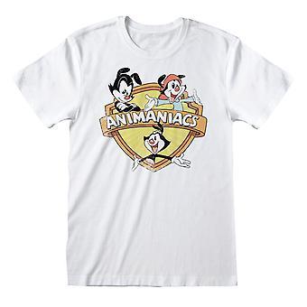 Animaniacs Womens/Ladies Group Distressed Boyfriend T-Shirt