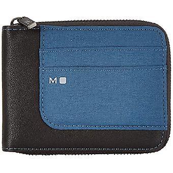 Moleskine ID Collection Wallet met rits 4 interne en 4 externe compartimenten voor creditcards, 1 zak voor bankbiljetten, 2 ref. 8058647624617