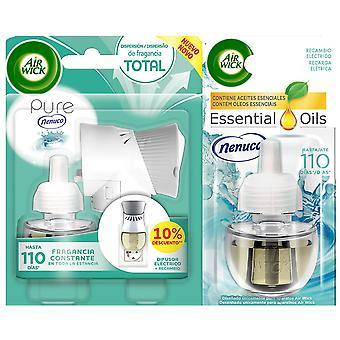 Air Wick Nenuco Electric Air Freshener Apparatus and replacement