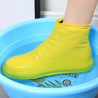 أحذية قابلة لإعادة الاستخدام للمطر المقاوم للماء