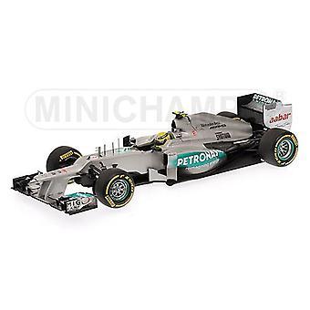 Mercedes Petronas W03 (Nico Rosberg - 2012) Diecast Model Car
