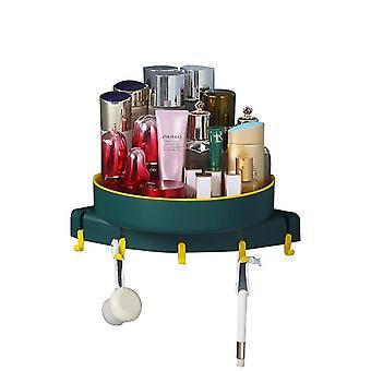 Green kitchen and bathroom rotating rackssmall storage racks x2266