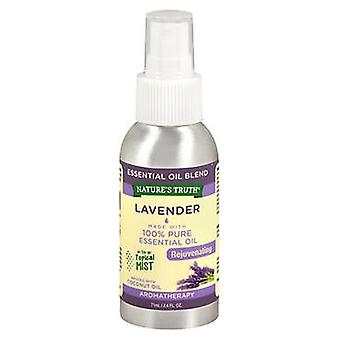 Nature's Truth Nature'S Truth Lavender Rejuvenating On The Go Topical Mist, 2.4 Oz