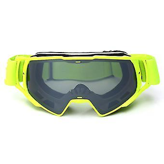 Off Road ATV Cykel Hjelm Briller Grå Fjernelse Lens Anti-UV Motocross Beskyttelsesbriller