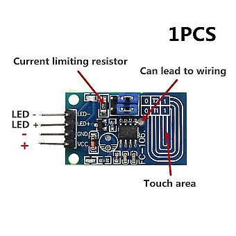 Ttp223 touch key switch module touching button self-locking/no-locking capacitive switches single channel reconstruction
