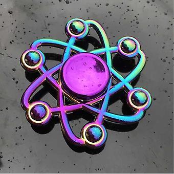 الاشياء المعتمدة® فيدجيت سبينر - مكافحة الإجهاد اليد سبينر لعبة لعبة R118 المعدنية كروما