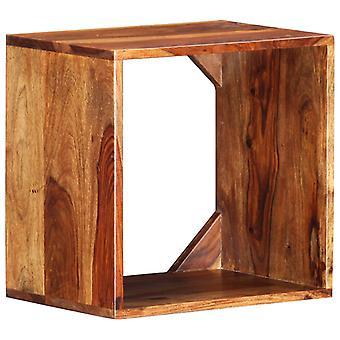 vidaXL الجانب الجدول 40×30×40 سم الخشب الصلب
