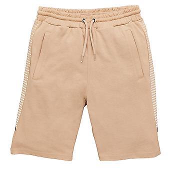 Kings kommer att drömma pojkar grayden beige print shorts