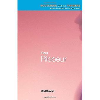 Paul Ricoeur (Routledge Critical Thinkers)