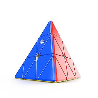 Pyramid  Enhanced Core Positioning Magnetic Speed Cube Stickerless Magic