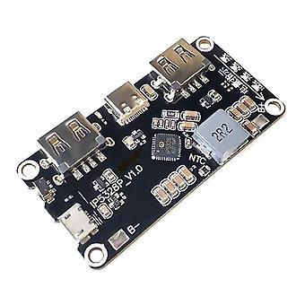 Ip5328p laddning po dubbelriktad snabbladdning switch modul för det mobila moderkortet ström 3.7v boost 5v 9v 12v