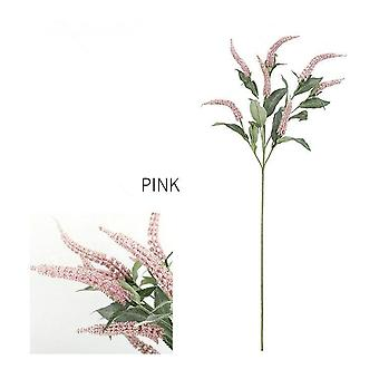 Luxury long sage grass branch artificial flowers diy fake plants home wedding decoration flores artificiales