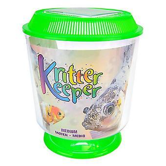 """Lees Round Kritter Keeper - Medium - 7.25"""" Diameter x 8.5"""" High"""