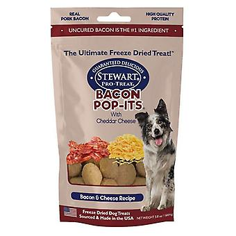 Stewart Bacon Pop-Its Bacon and Cheese Recipe Freeze Dried Dog Treat - 5.8 oz