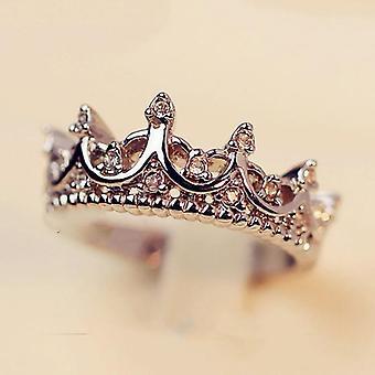 Kruununmuotoiset kuningattaren temperamenttirenkaat