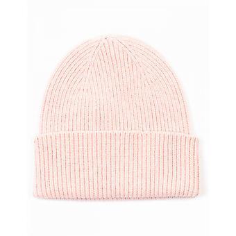 Färgglad standard Merino Wool Mössa - Blekt Rosa
