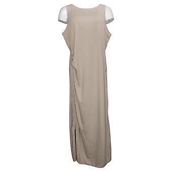 zuda Dress Z-Cool Regular Printed Knit Midi Dress Brown A377787