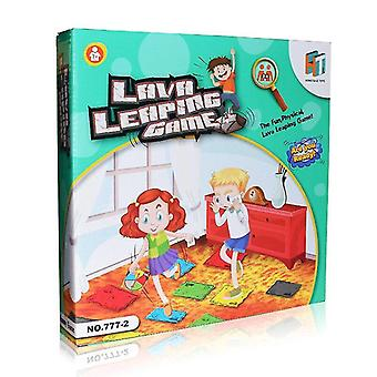 Hula hoops the floor is lava - interactive game for kids and adults - promotes physical activity - indoor and