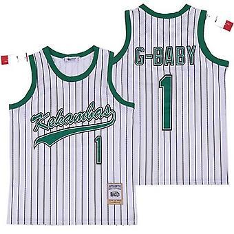 G-baby Jarius Evans 1 Kekambas Hardball Movie Basketball Jersey Stitched For Men S-xxl