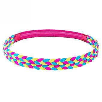 Braided Non Slip Sports Headband For Running Yoga Moisture Wicking Fitness Hair Band