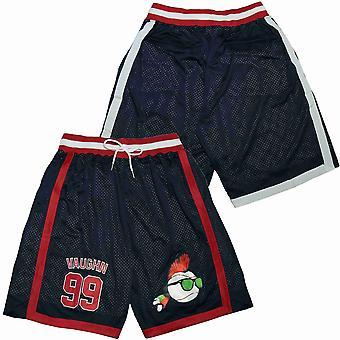 Men's Ricky Vaughn #99 Basketball Shorts Casual Outdoor Sports Sandbeach Pants Size S-xxl