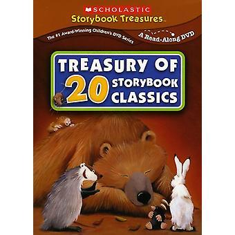 Tesoro de 20 cuentos clásicos [DVD] los E.e.u.u. la importación