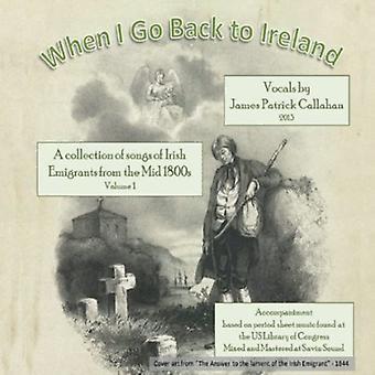 James Patrick Callahan - al regresar a Estados Unidos de Irlanda [CD] importar