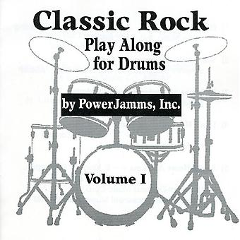 Powerjamms Inc. - Classic Rock Play Along for Drums [CD] USA import