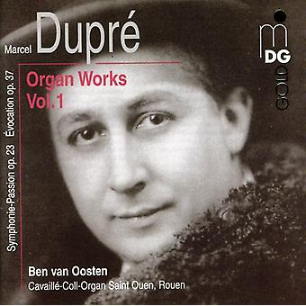 M. Dupre - Marcel Dupr : Organ Works, Vol. 1 [CD] USA import