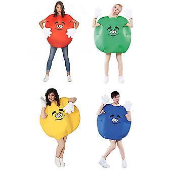 Candy costume Schokolinse Schokokostüm cracker costume one size