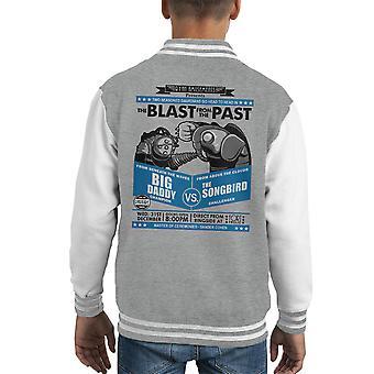 Blast From The Past Bioshock Kid's Varsity Jacket
