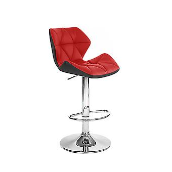 Spyder Contemporary Adjustable Barstool - Modern Comfortable Adjusting Height Counter/Bar Stool