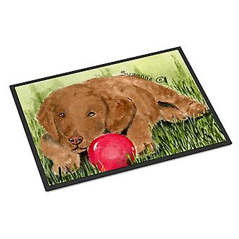 Carolines Treasures  SS8684MAT Curly Coated Retriever Indoor Outdoor Mat 18x27 D