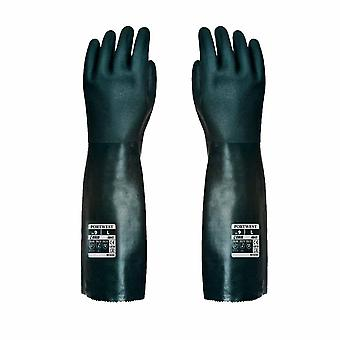 sUw - Cat 3 Chemical Protection Gauntlet Gloves 45cm (1 Pair Pack)