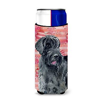 Giant Schnauzer Love Michelob Ultra Hugger for slim cans