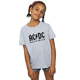 AC/DC Girls Back in Black Logo T-Shirt