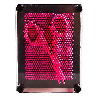 Roze Neon Pin Art
