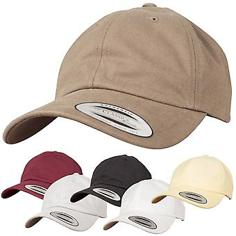 Flexfit Peached cotton twill dad Cap