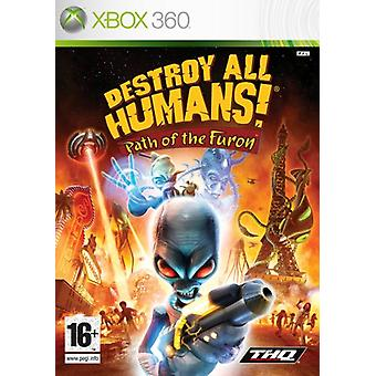 Destroy All Humans Path of the Furon (Xbox 360) - New