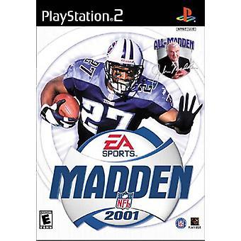Madden NFL 2001 - Fabrik versiegelt
