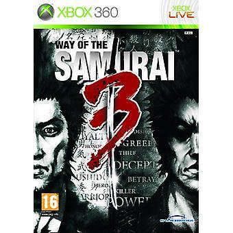 Weg des Samurai 3 (Xbox 360) - Factory Sealed