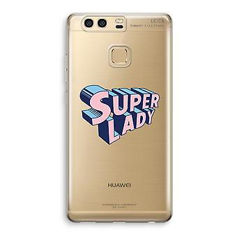 Huawei P9 gjennomsiktig sak (myk) - Super dame