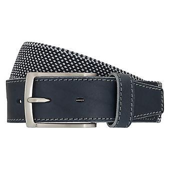 Ceintures de ceinture ceintures hommes LLOYD hommes tendre courroie 6903 Navy/Blue