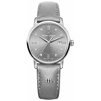 Maurice Lacroix Womans Eliros gris EL1094-SS001-250-1 montre