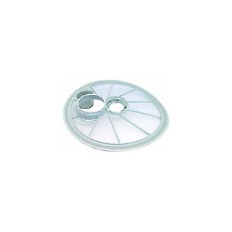 Zanussi grå diskmaskin sugfilter