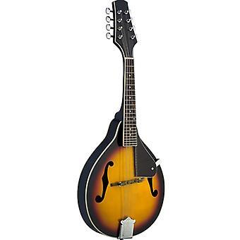 Mandolina Bluegrass tradicional de Stagg M20 - Violinburst
