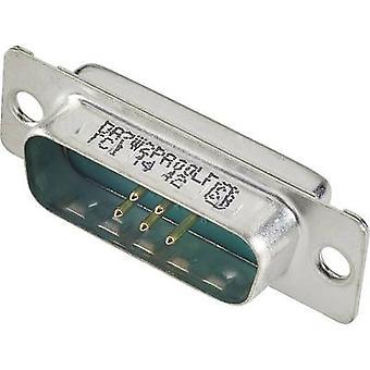FCI D-SUB DB13W3PA00LF D-SUB hybrid 180 ° antal stift: 13 lödning 1 st. (s)