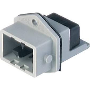 Hirschmann 931 697-106-1 Conector de rede STASEI Plug, montagem vertical Número total de pinos: 5 + PE 6 A Grey 1 pc(s)