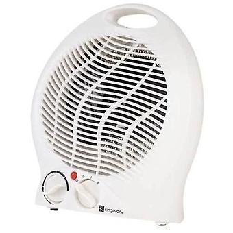 Kingavon elektrisk fläkt värmare 2000W 2kW upprätt heta & kalla bärbara golvet tyst