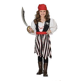 Piraten Girl Piratenkostüm Kleid für Kinder Piratin